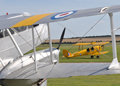 Rapide and tiger moth